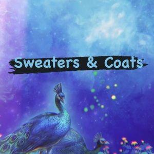 Sweaters, Coats, & Vests
